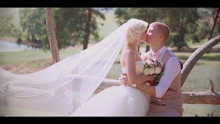 Трогательное поздравление на свадьбу. Шикарный свадебный клип. Сергей и Алина