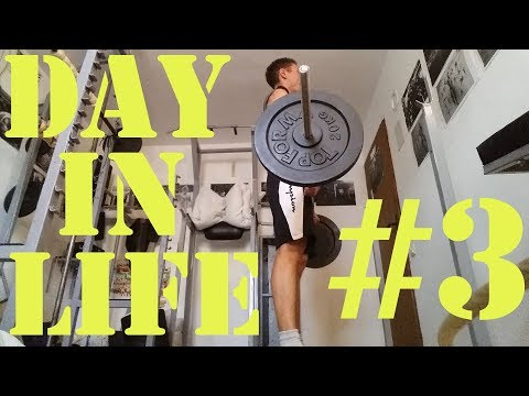 Day in life #3 - Fullbody workout(Wider than shoulder width)_Trening za celo telo