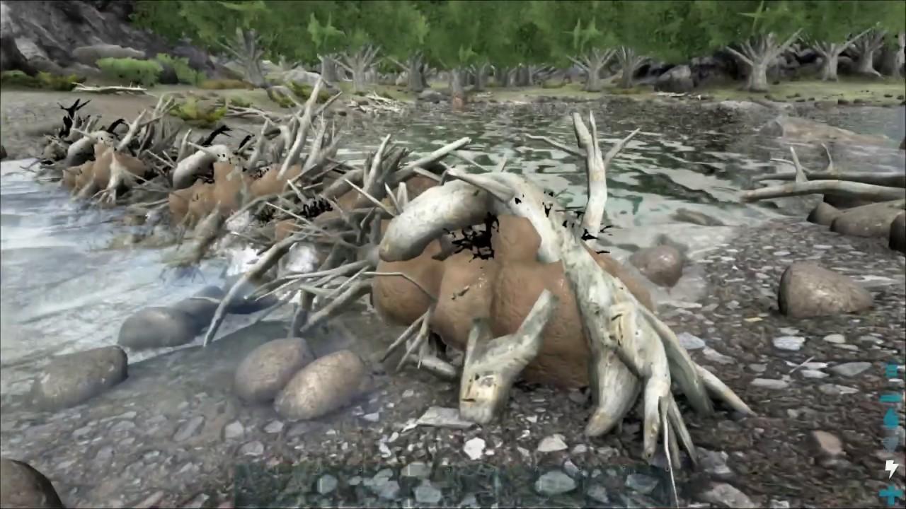 "Ark: Survival Evolved Gameplay - S4-P10 ""How to make a ...   Ark Beaver Dam"