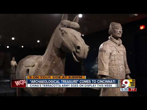 Terracotta Army: Guardians of the First Emperor's tomb march to Cincinnati