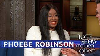 Phoebe Robinson's Bono Cookie Looks A Lot Like Stephen