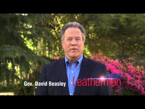"Governor Beasley Endorses ""Our Senator"" Hugh Leatherman"