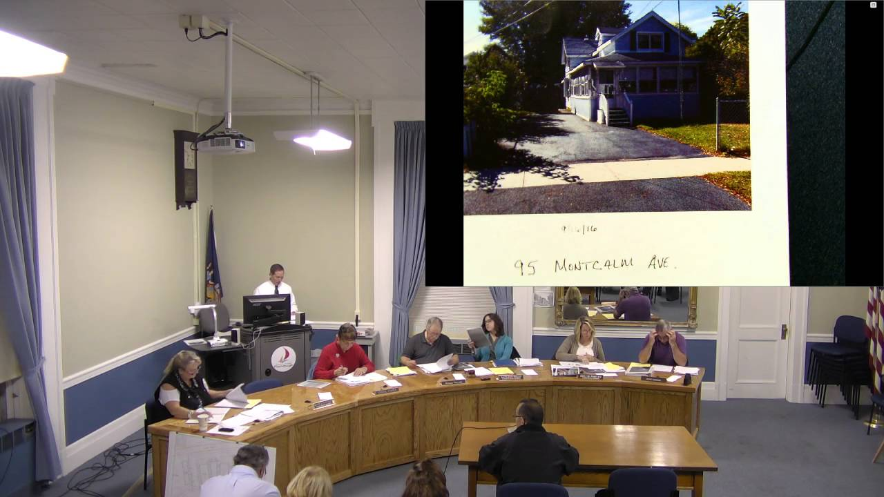 City of Plattsburgh, NY Zoning Board Meeting 10-17-16