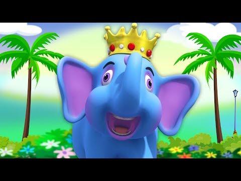 Hathi Raja Kahan Chale | Hindi Rhymes | हाथी राजा कहाँ चले | Kids Channel India | Nursery Rhymes