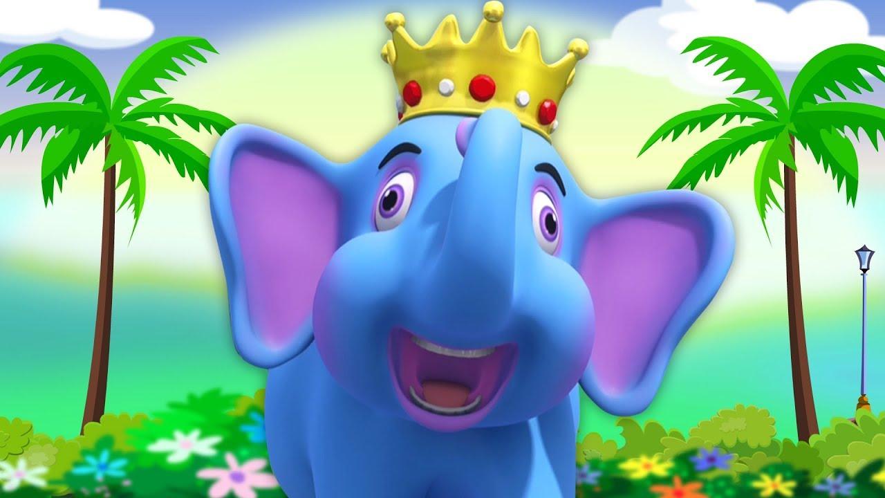 Hathi Raja Kahan Chale  Hindi Rhymes  हाथी राजा कहाँ चले  Kids Channel India  Nursery Rhymes