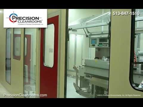 Precision Cleanrooms - Pharmaceutical Cleanroom design and construction