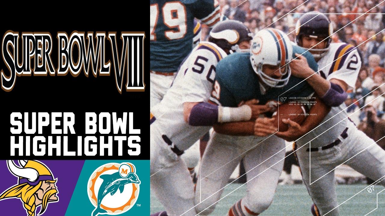 Super Bowl VIII Recap: Vikings vs. Dolphins   NFL - YouTube