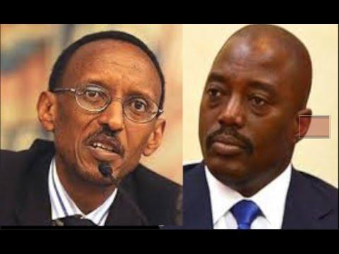 peuple congolais suivez ce messager Paul Kagame na joseph kabila