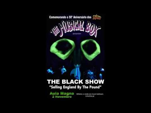 Musical Box - The Black Show/Selling England By The Pound -  November 2, 2017  - Aula Magna, Lisboa
