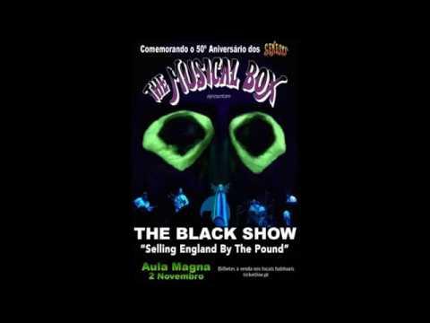 Musical Box - The Black Show/Selling England By The Pound -  November 2, 2017  - Aula Magna, Lisboa