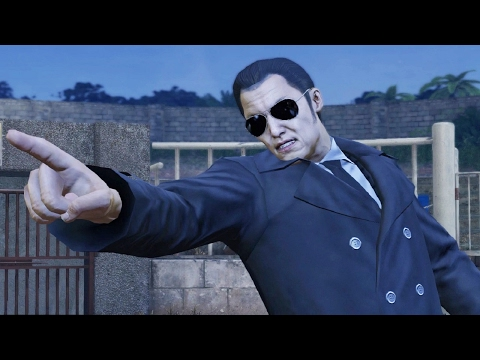 Yakuza 0: So Amon Secret Boss Fight (1080p 60fps)
