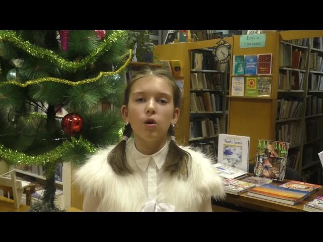 Изображение предпросмотра прочтения – СоллениковаЕкатерина читает отрывок изпроизведения «Мороз, Красный нос» Н.А.Некрасова