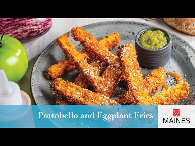Portobello and Eggplant Fries