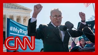 Schumer accused of threatening Kavanaugh and Gorsuch during rally