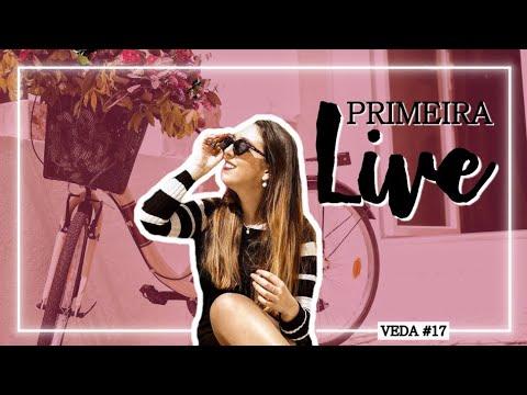 PRIMEIRA LIVE DO CANAL 💗 // VEDA #17
