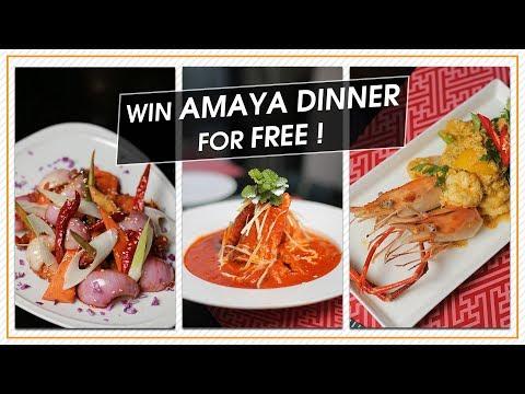 Buffet Dinner Giveaway 🔥🔥 | Amaya Food Gallery | Slick Lifestyle | Amari Dhaka