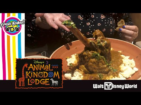 FOOD REVIEW Full Sanaa Dinner Review | Fresh Baked WDW