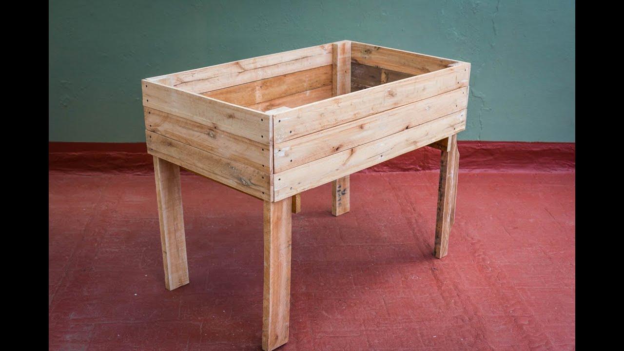 como hacer una mesa de cultivo
