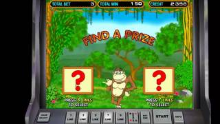 постер к видео Шок!!! Как я выиграл онлайн казино Вулкан в автомат Обезьянки( Crazy monkey)