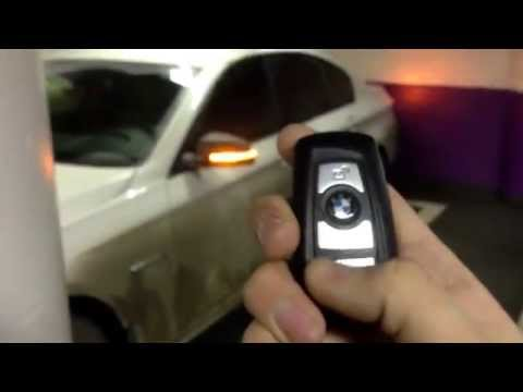 BMW F10 panic alarm by remote key
