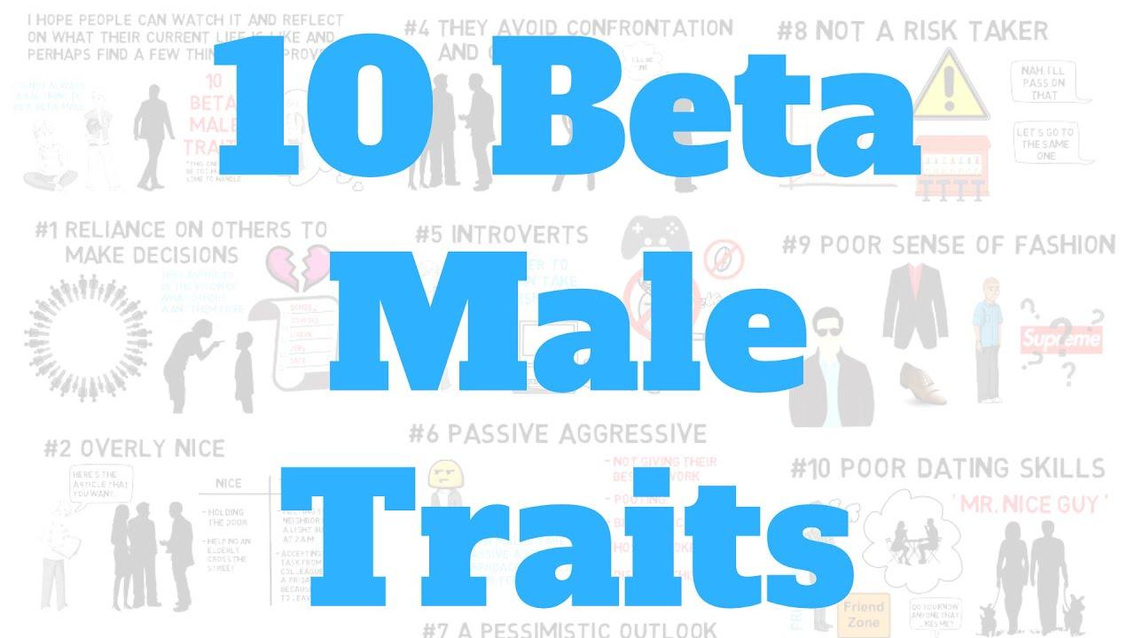 Beta male traits