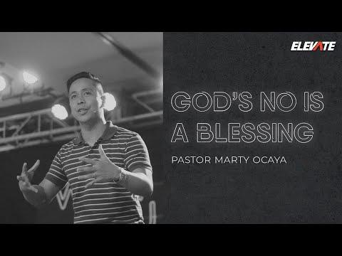 What Do You Do When It's Not For You?   God's No Is A Blessing - Marty Ocaya