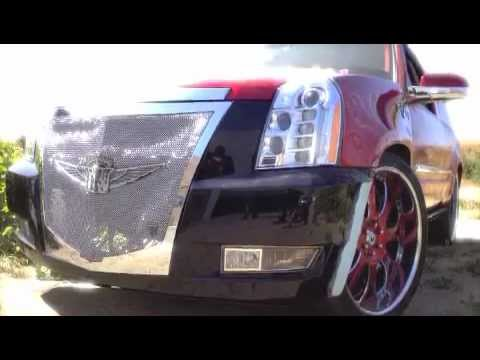 All Wired Custom Grills Escalade Platinum Youtube