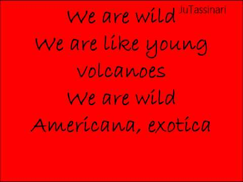 Young Volcanoes - Fall Out Boy - Lyrics