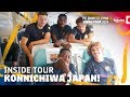 KONICHIWA JAPAN! | Inside Tour Japan 2019 #1