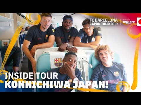 KONICHIWA JAPAN! | Inside Tour Japan 2019 #1