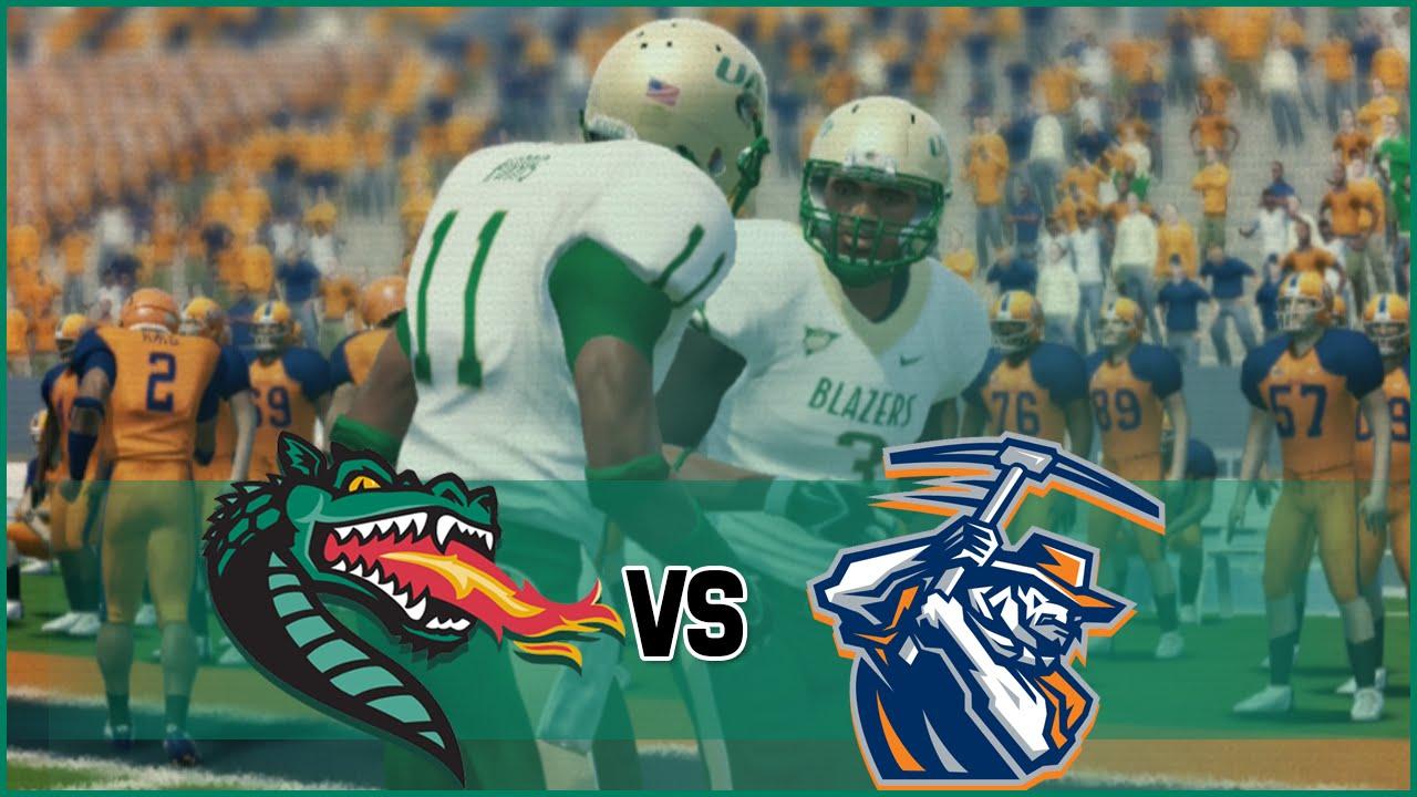 fd9138014 NCAA Football 14 UAB Blazers Dynasty- Year 1 Game 7 at UTEP Miners ...