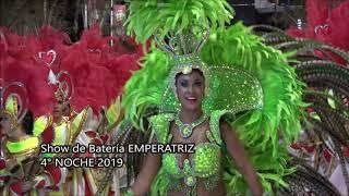 4 Noche Carnaval Concordia Show Batería EMPERATRIZ