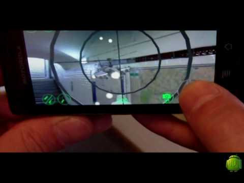 Android Augmented reality Game - sky siege