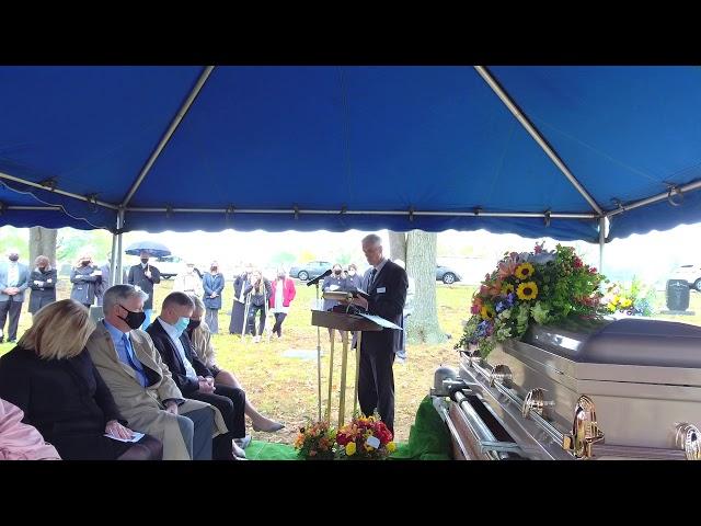 Jennie Hise Graveside Memorial 10 24 2020