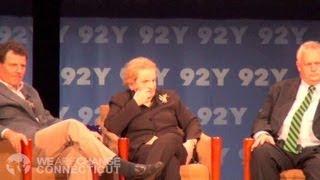 Madeleine Albright Confrontation Redeux Part 1