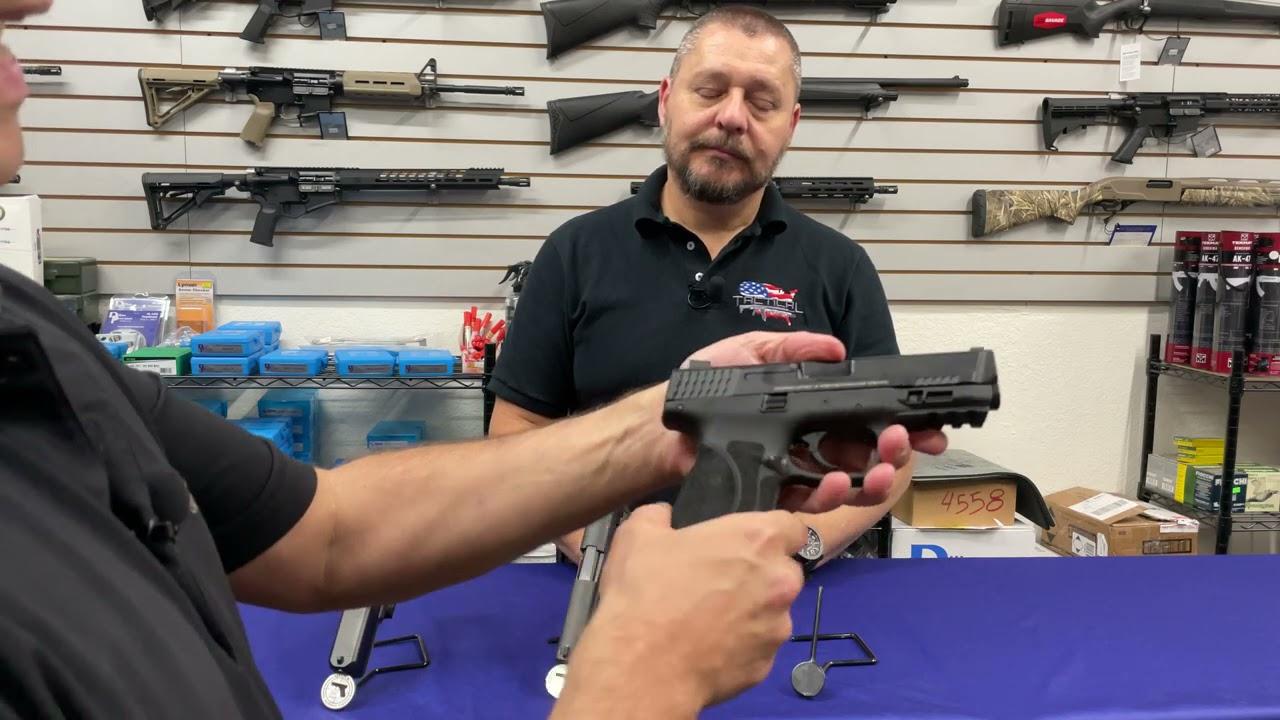 As Melhores Pistolas de Serviço em 40S&W