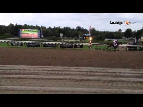 VIDEO V.E. Day wins the 145th Travers Stakes. #Saratoga