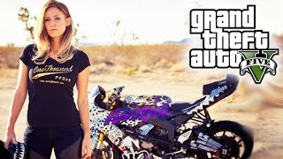 AMAZING GTA 5 BIKE STUNTS COMPILATION!