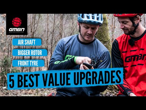 5 Of The Best Bang For Your Buck Mountain Bike Upgrades   Best Value MTB Upgrades