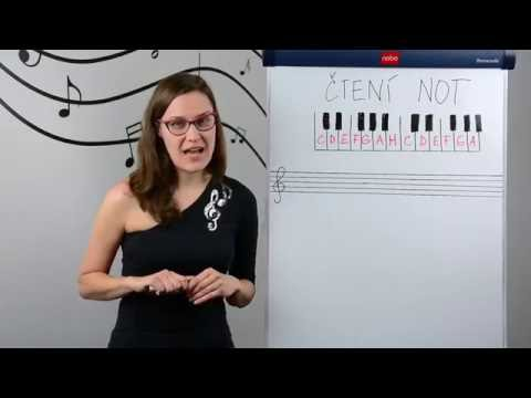 Hudební Nauka - Čtení Not
