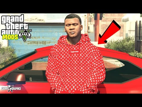How to install Supreme Hoodie pack (2019) GTA 5 MODS