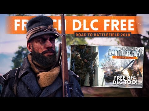 DICE GIVING US *FREE* DLC! They Shall Not Pass DLC FREE - Battlefield 1 (Road To Battlefield 2018)