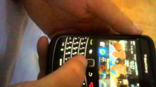 Blackberry Bold 2. Mensajes  de voz