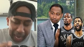 Stephen A. Smith INSANE reaction to Nets signing Kevin Durant! (Before and After signing)