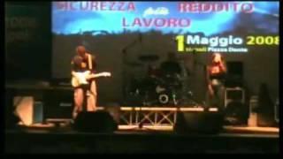 Luna live  cover Gianna Nannini Radio baccano Live 1 Maggio piazza dante (CRONACA SANREMO 2000)