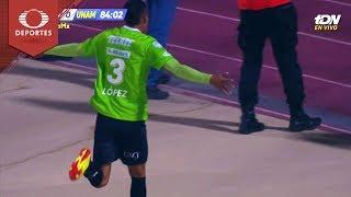 Gol de Luis López | Juárez 2 - 0 Pumas  | Copa MX - Semifinal | Televisa Deportes