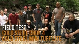 Cold Steel Mini Tuff Lite and Code 4 | Field Test. EPIC