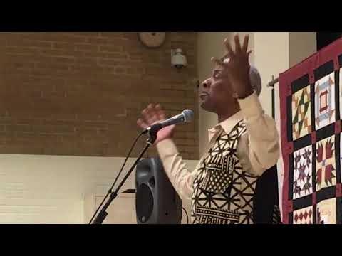 Reggie Harris performs Music and the Underground Railroad