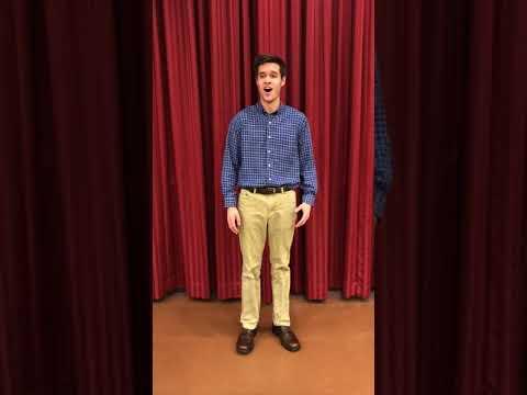 Garrett Gagnon Audition : Wandering Star