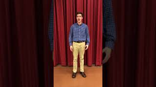 Garrett Gagnon Audition Video: Wandering Star